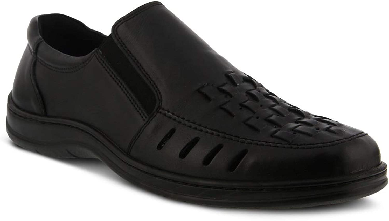 Spring Step Men Davide shoes   color Black   Leather shoes