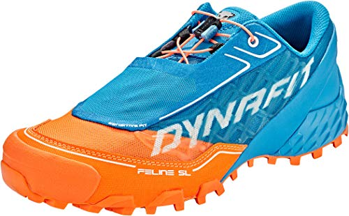 DYNAFIT Feline SL Schuhe Herren Shocking orange/Methyl Blue Schuhgröße UK 10,5 | EU 45 2020 Laufsport Schuhe
