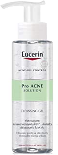 Eucerin Pro Acne Solution Cleansing Gel 200ml Acne-Oil Control , Eliminates excess sebum