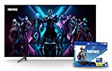 Sony KD-75XG8096 Bravia 75 Zoll (189cm) Fernseher (Ultra HD, 4K HDR, Android Smart TV, Chromecast) schwarz + PS4 Slim (500GB, Jet Black) + 2 Controller: Fortnite Neo Versa Bundle