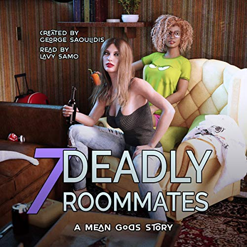 7 Deadly Roommates cover art