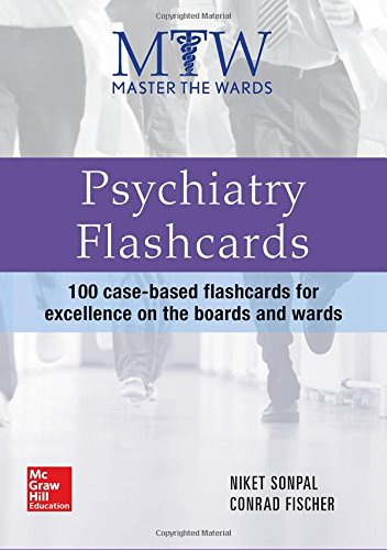 Psychiatry Flashcards (Master the Wards)