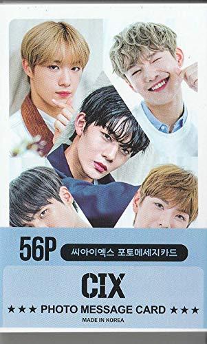 K-POP Group 2020 New Photo Message Card 56pcs set (Postcard / 56sheets) (CIX)
