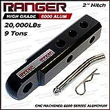 Ranger 2' Extended Aluminum Hitch Receiver...