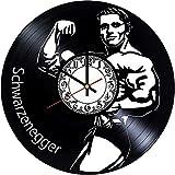 Arnold Schwarzenegger - Reloj de pared, diseño moderno en 3