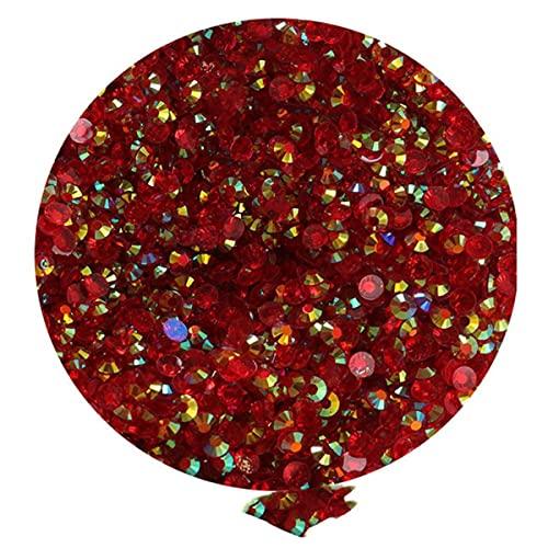 A GRANEL 3MM 4MM 5MM Jelly Flatback Resina Rhinestones SS16 SS20 Adornos redondos Suministros de artesanía Kit de bricolaje Candy Cabs