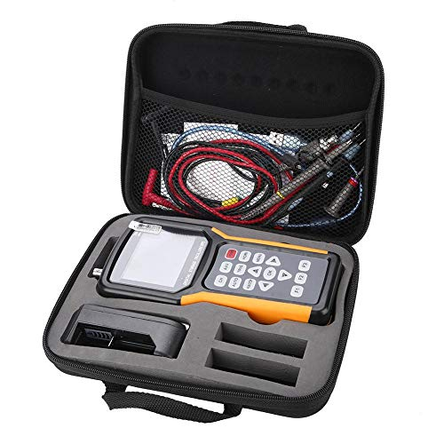 JDS2012A/JHJDS2022A 200MSa/s Osciloscopio LCD Almacenamiento digital TFT Multímetro portátil 100-240V(EU-JDS2012A)