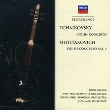 Tchaikovsky: Violin Concerto; Shostakovich: Violin Concerto No. 1