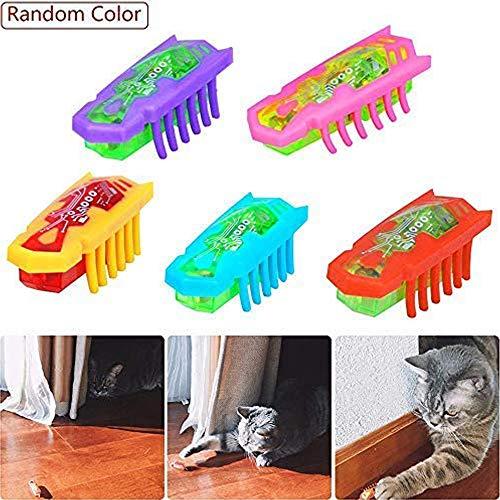 Elektrisches Spielzeug für Katzen, Mini-Roboter, interaktives Katzenspielzeug