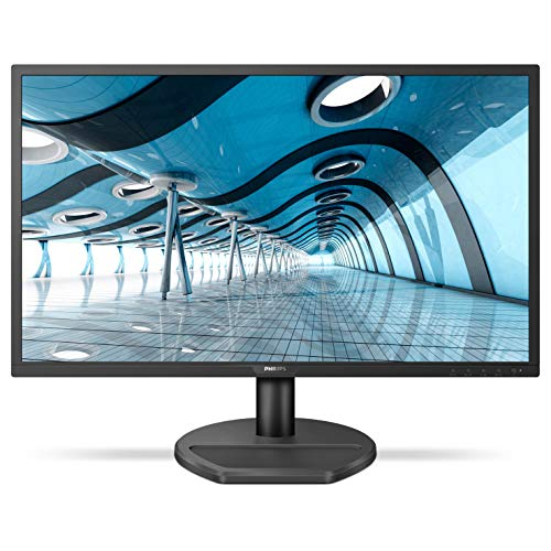 PHILIPS 221S8LHSB/94 21.5″ Smart Image LED Monitor, TN Panel HDMI/VGA Port, 1 ms Response Time, FHD, Free Sync, 60Hz Refresh Rate, Adjustable Stand, TCO Certified, Flicker Free
