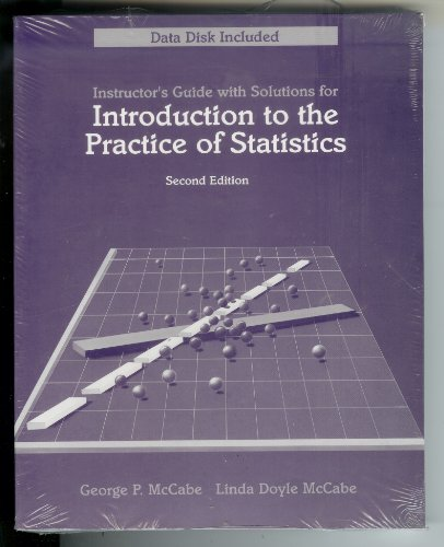 Introduction to the Practice of Statistics, Second Edition; Instructor's Guide with Solutions