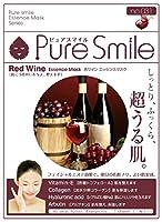 Pure Smile エッセンスマスク 赤ワイン 23ml☓30枚