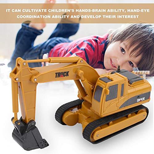 RC Auto kaufen Baufahrzeug Bild 2: Dilwe Fernbedienung Bagger Spielzeug, Mini RC Engineering Truck Auto Baufahrzeug Spielzeug Geschenk für Kinder Kinder*