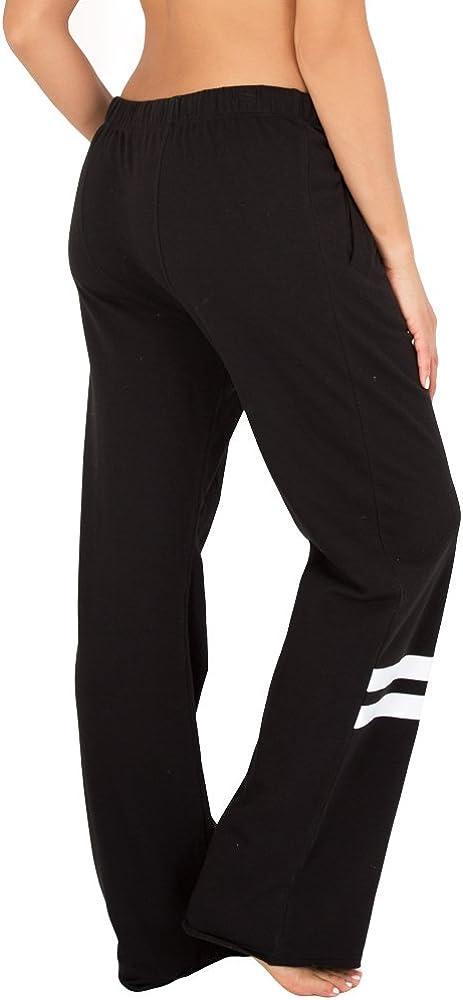 Smart & Sexy Women's Comfort Cotton Boyfriend Fleece Lounge Pants
