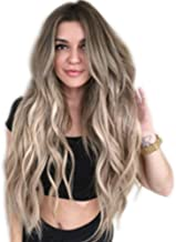 Vovotrade wigs Fashion wavy hair wig Long Natural Wavy High Density Heat Resistant Wig For Women Daily Party