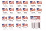 USPS Forever Stamps 'Four Flags' Booklet of 20 Stamps