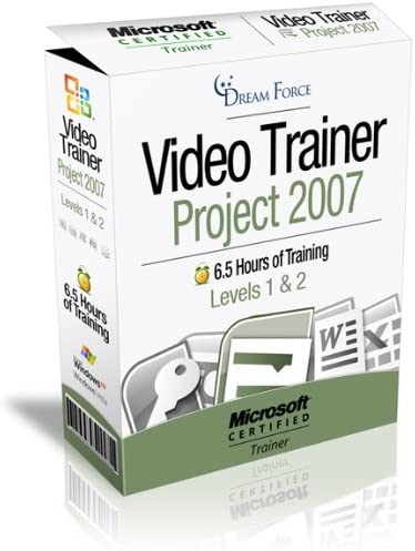 Project 2007 Training Videos 6 5 Hours of Project 2007 training by Microsoft Office Specialist product image