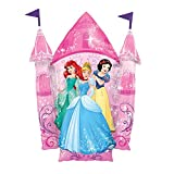 Anagram- Pallone Foil Supershape 35''-88 cm Castello Principesse, Multicolore, 7A3352801