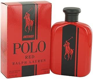 Rálph Laüren Pölo Rëd Intënse Colognë For Men 4.2 oz Eau De Parfum Spray + FREE Shower Gel