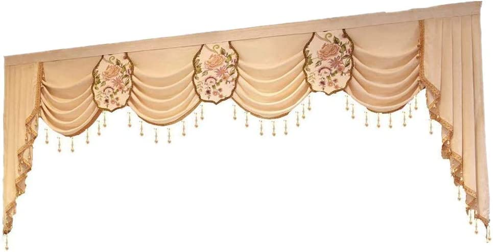 NewWPKIRA shop European Curtain Valance for Living Room Matching Vala Sale