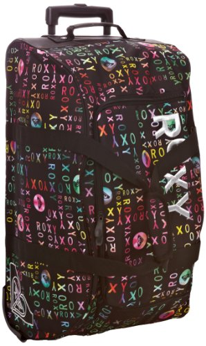 Roxy Bolsa de Viaje, Reisetaschen Distance Apart, 64 cm, Negro Noir-TR-C3-208, XMWBA431-
