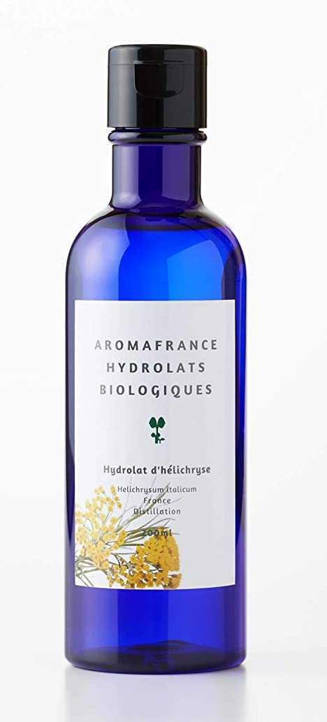 最小俳句アミューズメントアロマフランス(Aroma France)ハーブウォーター ヘリクリサム 200ml