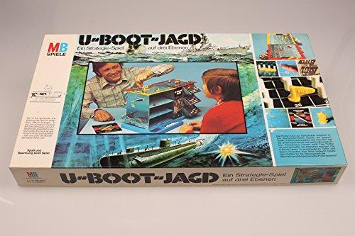 U-Boot-Jagd. Ein Strategie-Spiel auf drei Ebenen. [Brettspiel].