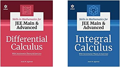 Skills in Mathematics - Differential Calculus & integral Calculus for Jee Main and Advanced (Set of 2 Books)