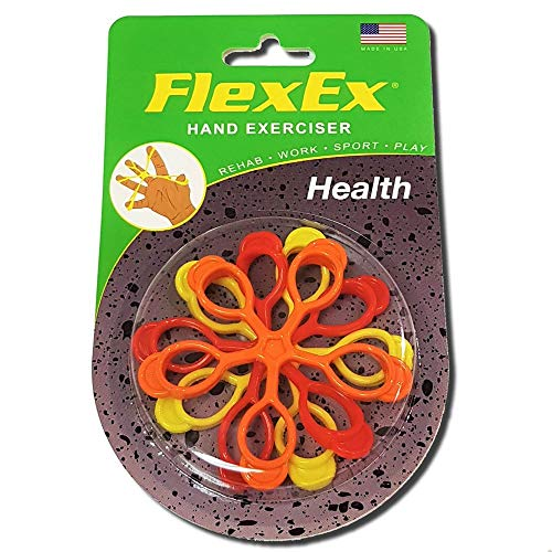 FlexEx HEALTH Patented Hand Exerciser, Made in USA