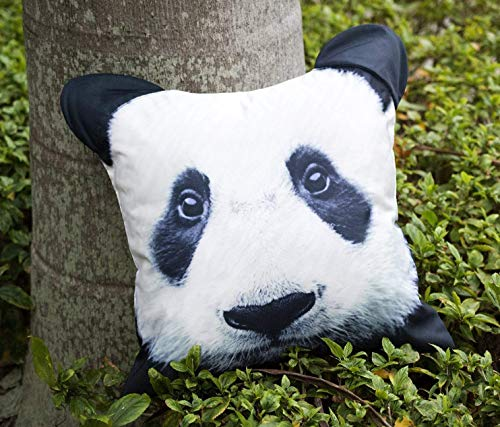 Panda Animal Pillow Case Cushion Cover 18 x 18 inches