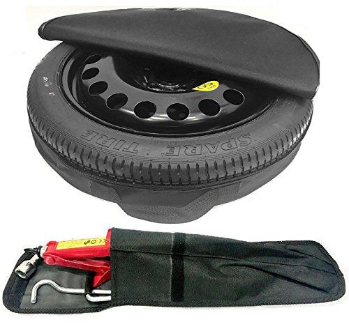 TheWheelShop - Rueda de repuesto para coche y kit de herramientas, rueda de 18 pulgadas, para ahorro de espacio