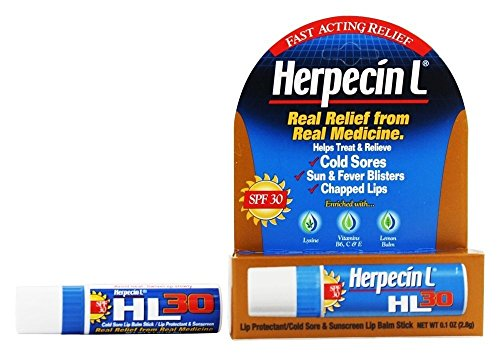 Special pack of 6 HERPECIN-L COLD SORE LIP BALM 0.1 oz