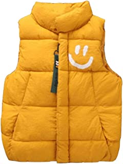 Yanlian Girls Baby Boys Unisex Winter Warm Vest Zipper Jacket Outerwear Thick Coats Winter Kids Gilets