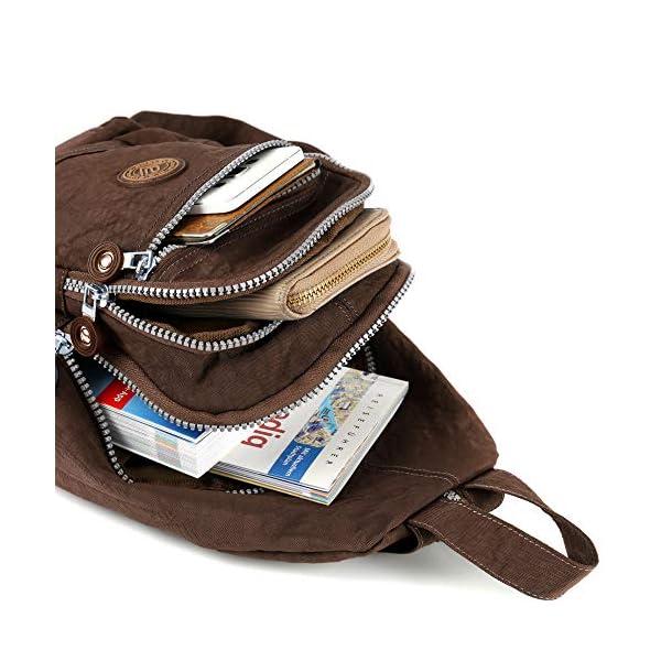 51xX204ujBL. SS600  - Mini mochila ligera para mujer, chica, chico, para el tiempo libre, ciclismo, deporte, senderismo, viajes, 6 colores