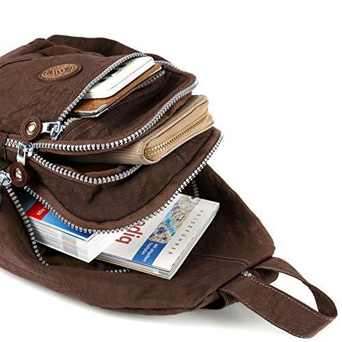 51xX204ujBL - Mini mochila ligera para mujer, chica, chico, para el tiempo libre, ciclismo, deporte, senderismo, viajes, 6 colores