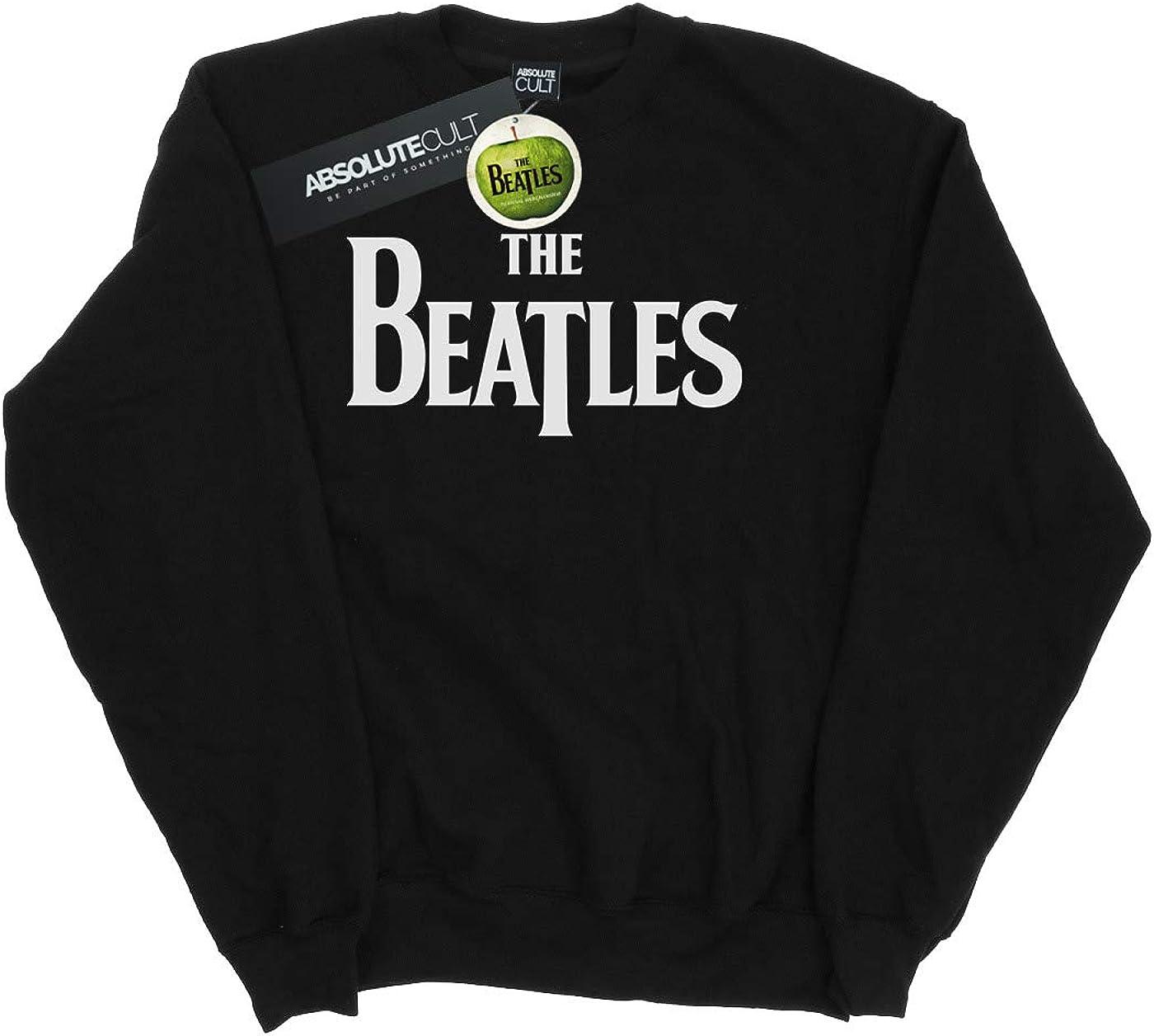 The Beatles Mujer Drop T Logo Camisa De Entrenamiento: Amazon ...