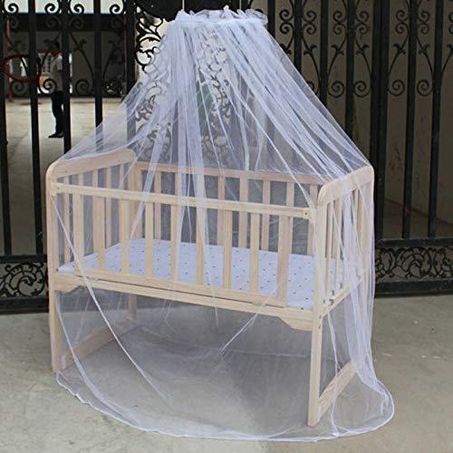 NO LOGO KF-NET Moskitonetz für Babybett, Moskitonetz, Kuppelvorhang, für Kleinkinder, Krippe, Betthimmel, Kinderbett Fliegennetz