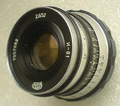 INDUSTAR 61 2,8 / 52 mm ZEBRA LEICA USSR Soviet Union Russian lens screw M39
