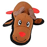 <span class='highlight'>AB</span> <span class='highlight'>Tools</span> <span class='highlight'>Rosewood</span> Dog Tough Multi Textured Canvas Reindeer With Squeak15x23cm