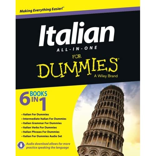 Amazon Com Italian All In One For Dummies 9781118510605