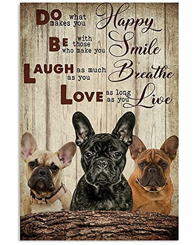 300 Piece Wooden Puzzles French Bulldog Love Jigsaw Puzzles for Adults and Kids Development Toys Games Toys Gift