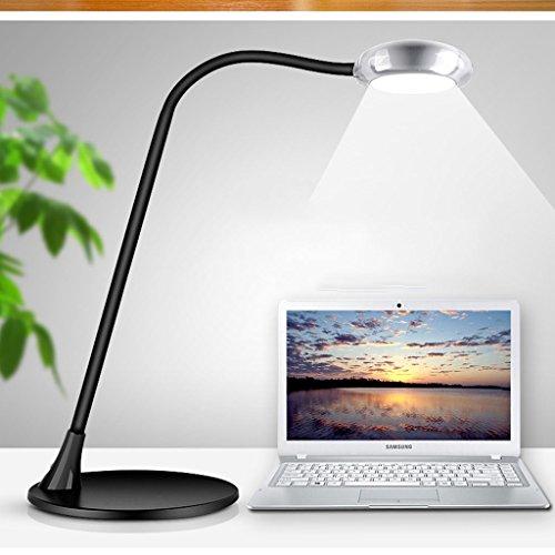 Lampe de table F Lampe de bureau LED 10W lecture, lampe de chevet de chambre à coucher, interrupteur tactile, Dimmable, série: MT-3678, pas de stroboscope