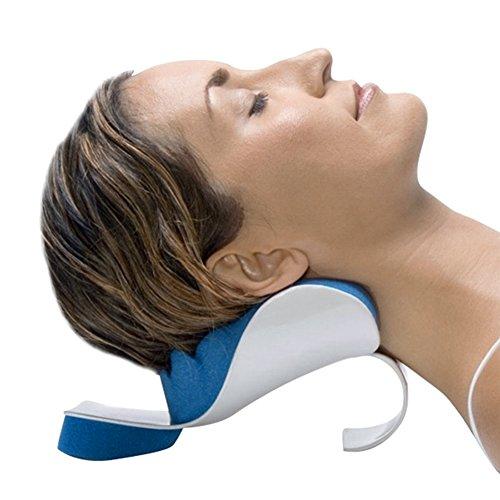 Relaxant cou et épaules Soulagement de la douleur Soutien Relaxation de l'oreiller Massage à domicile