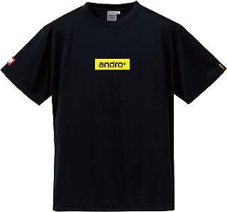 andro(アンドロ) アンドロ ナパ ティーシャツBX BK/YL タッキュウゲームシャツ (302811)