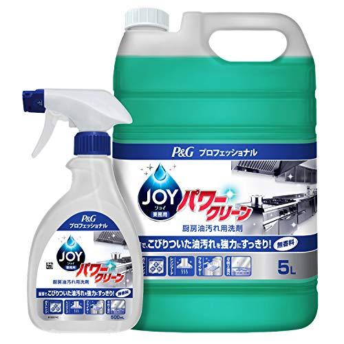 【業務用 油汚れ用洗剤】ジョイパワークリーン 本体 5L P&Gプロフェッショナル