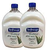 Softsoap Hand Soap Soothing Aloe Vera Moisturizing Hand Soap Refill