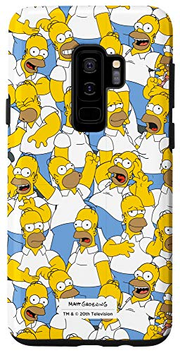 Galaxy S9+ The Simpsons Homer Simpson Print Case