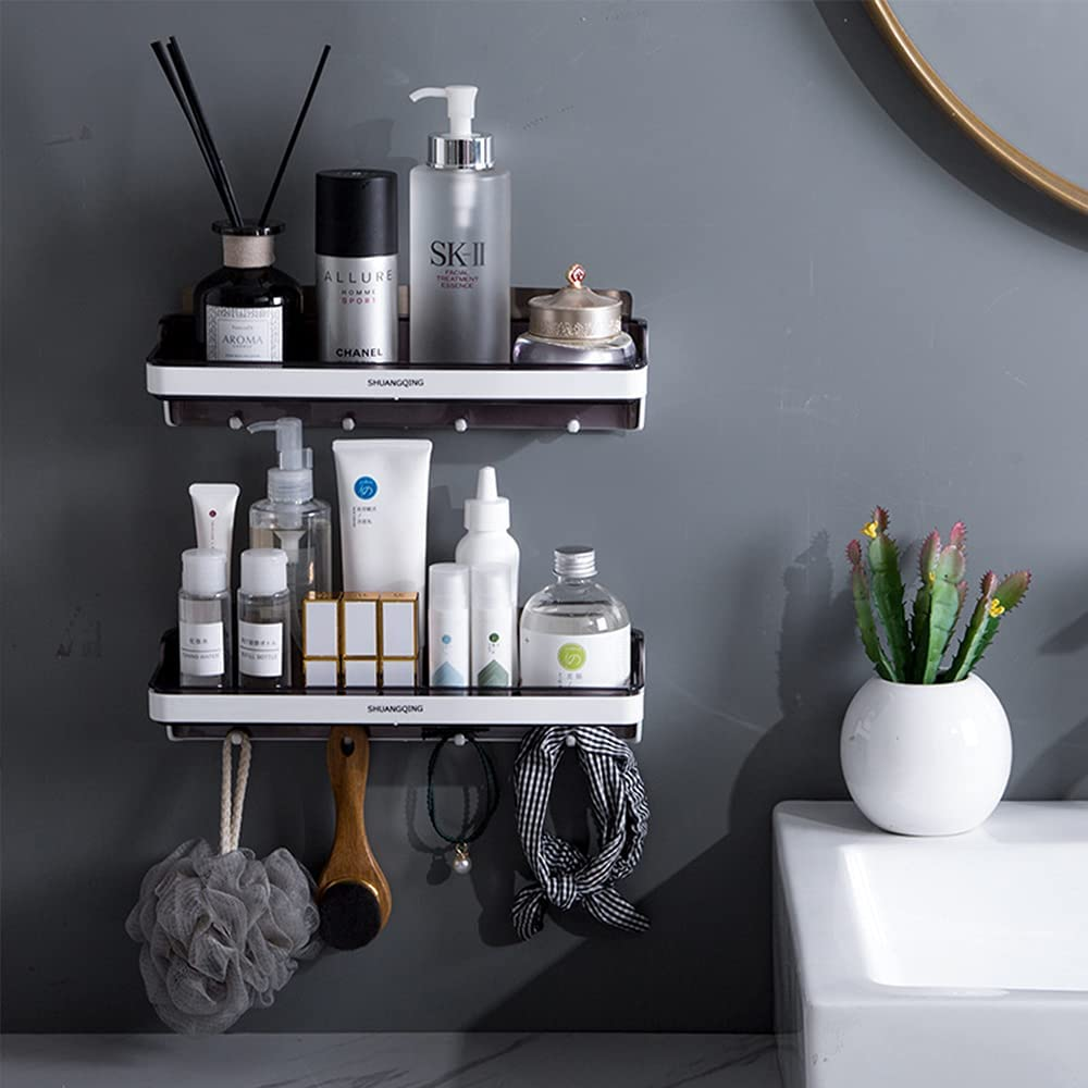 Shower online shop Shelf for Bathroom Organizers Store Storage With S Hooks
