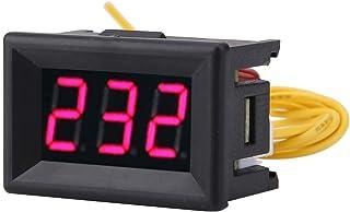 Medidor de voltaje · 1pc Digital 0.36 ″ Pantalla LED Voltímetro Panel medidor de voltaje CA 70-380V