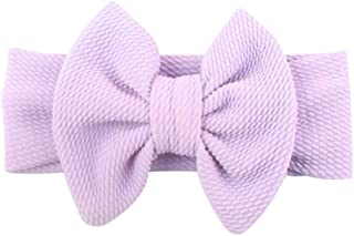Dolloress Princess Bow Multi Colors Headband Hair Belt Band Clip Girls Ribbon Bow for Kids Toddler Headwear Accessories
